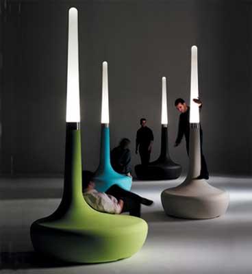 ross lovegrove lighting. Outdoor Seat Lamp Ross Lovegrove Lighting