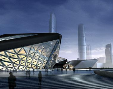 Zaha hadid for Beijing opera house architect